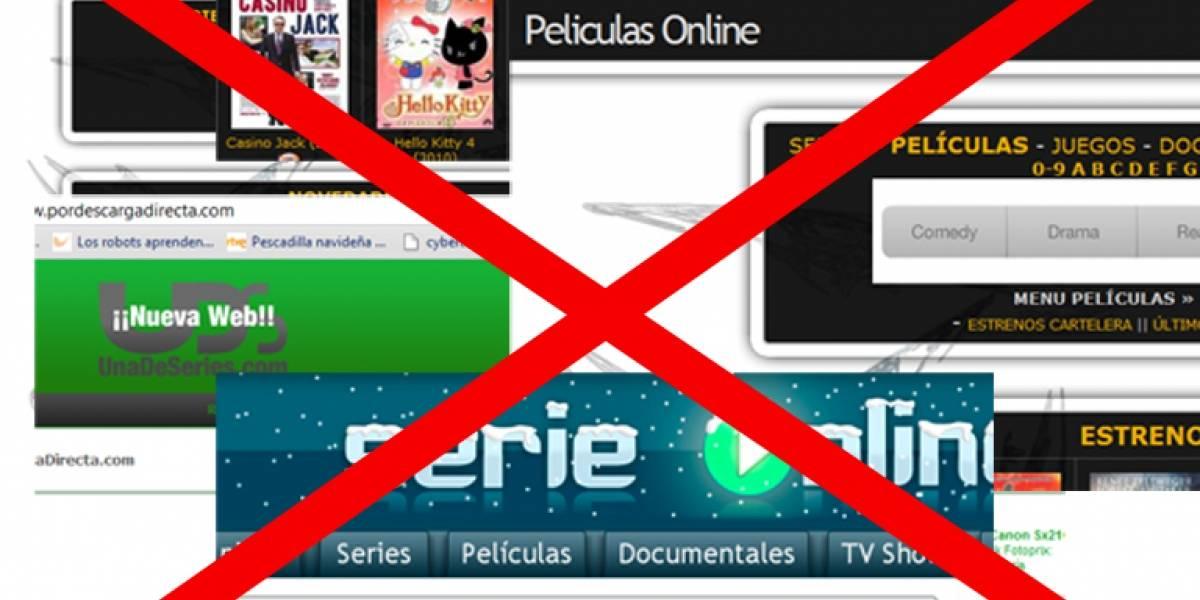 España: Preparan paquete de denuncias contra sitios web de enlaces a descargas