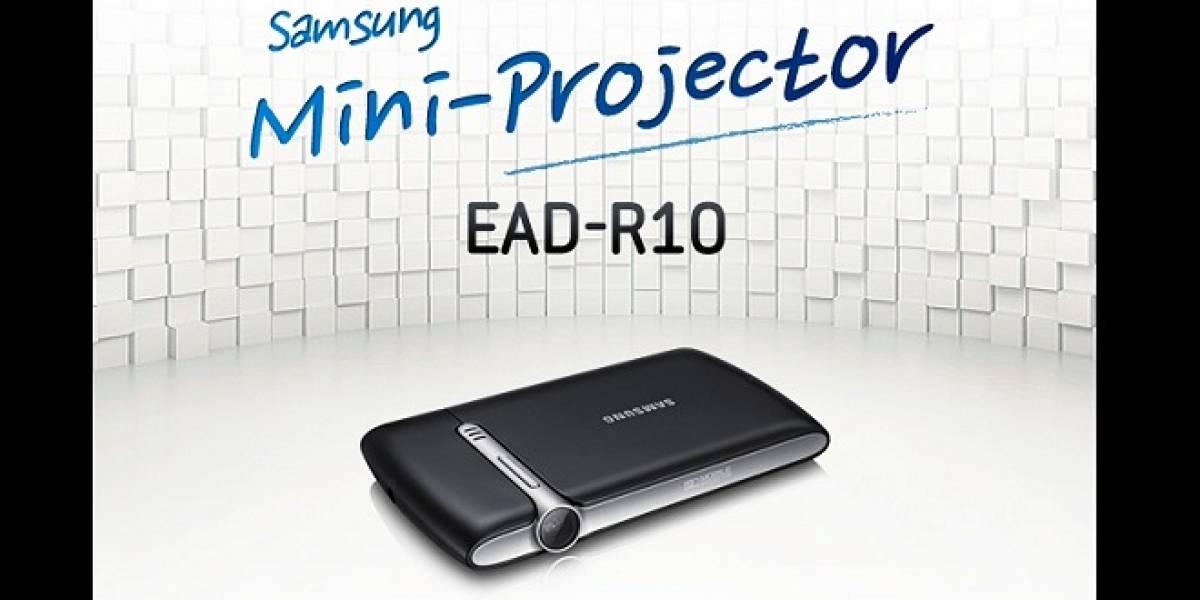 Samsung EAD-R10: Un proyector para tu Galaxy