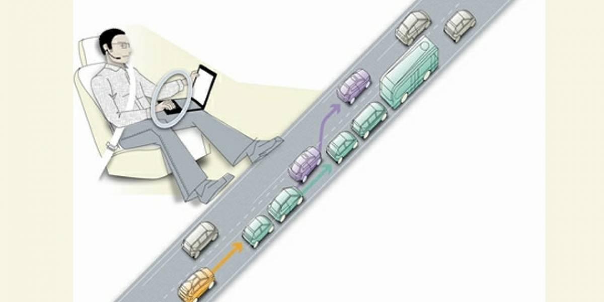 Proyecto SARTRE: Volvo prueba en España su piloto automático para automóviles