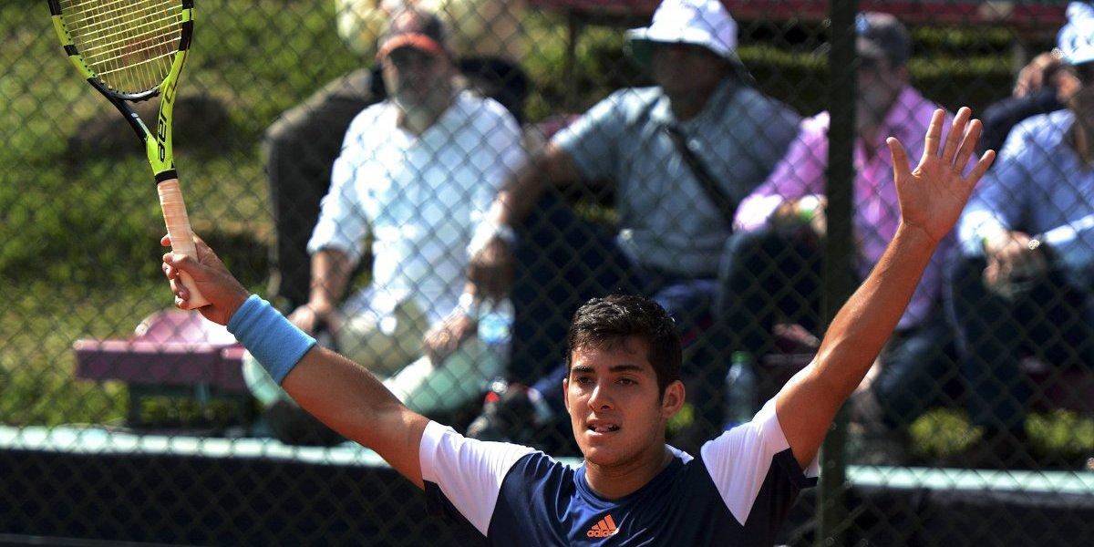 Garín pierde en semifinales del Challenger de Newport