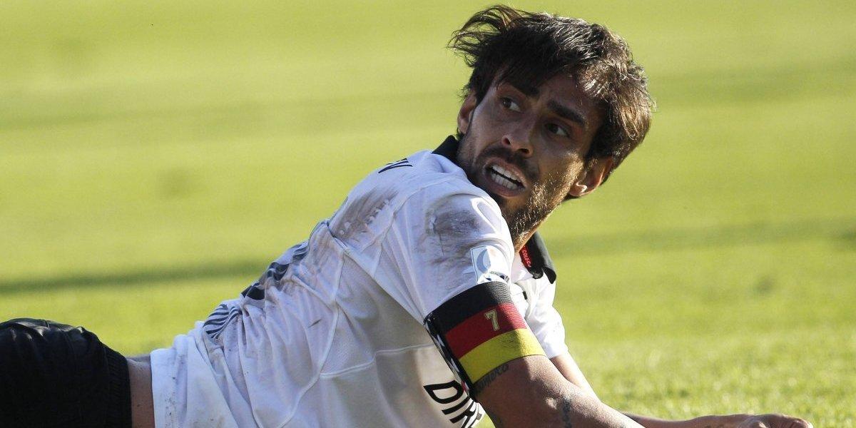 Jorge Valdivia será el gran ausente de Colo Colo en la final de la Supercopa ante Wanderers