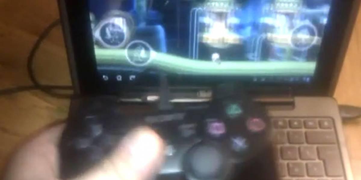 ¿Jugar en un tablet con joysticks? No hay problema