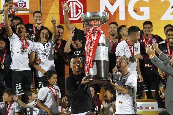 Colo Colo levantó otra copa / imagen: Photosport