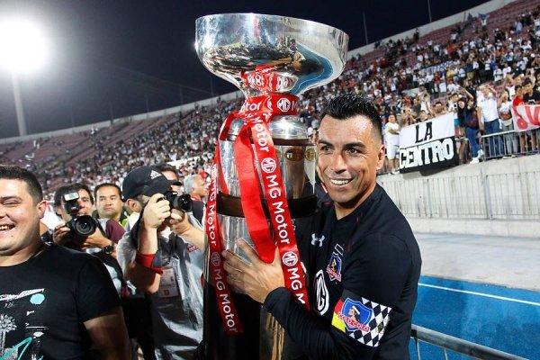 Paredes celebra un nuevo título / imagen: Photosport
