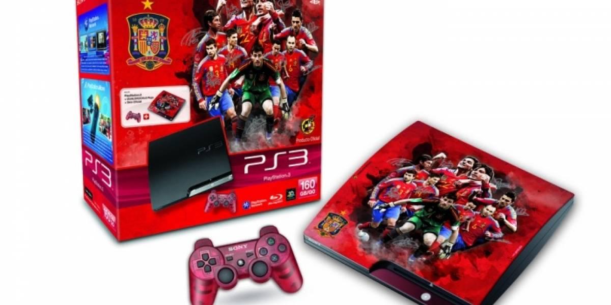 España: Sony lanzará PlayStation 3 modelo selección española de fútbol