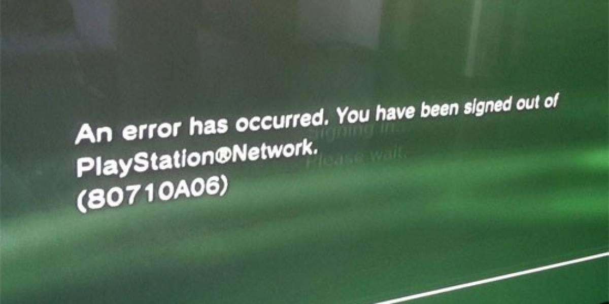 La PSN se cae y sigue sin levantarse
