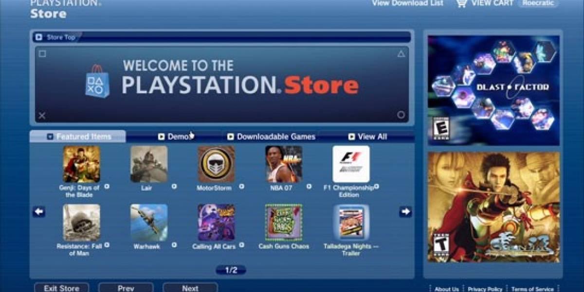 La Playstation Store no vuelve hoy