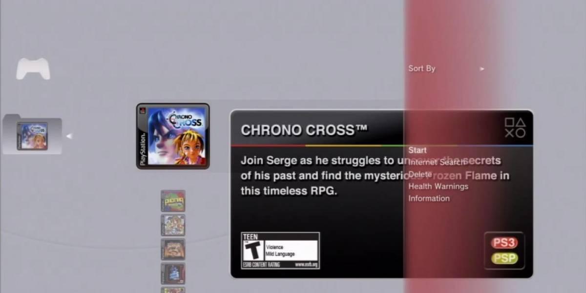 Ya no podrás instalar clásicos de PSOne y Minis en la PS3 y PSP a la vez