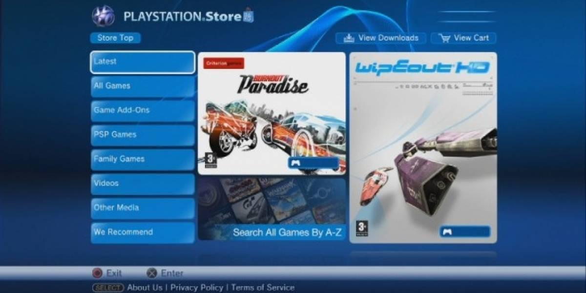 La Playstation Store vuelve el 24 de Mayo