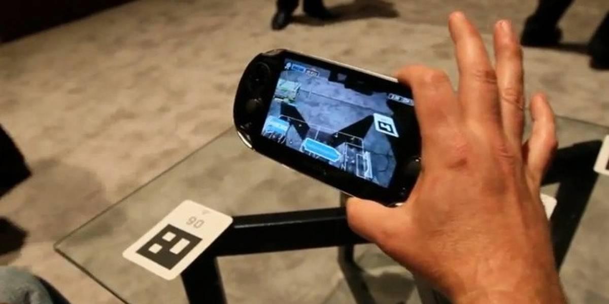 CES 2012: Se muestran las capacidades de realidad aumentada del PSVita