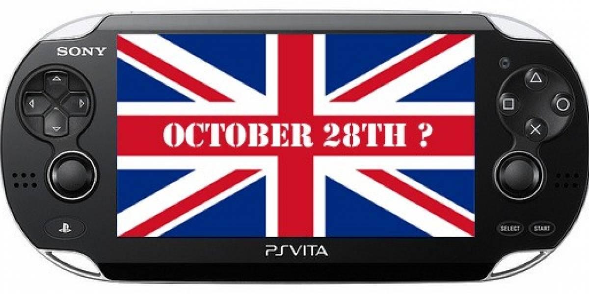 ¿PS Vita para el 28 de octubre?