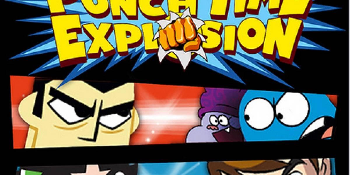 Punch Time Explosion: El crossover de peleas de Cartoon Network