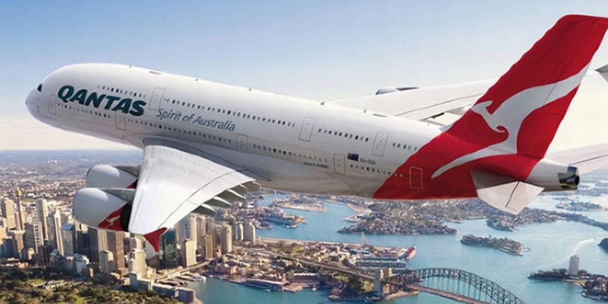 Qantas implementa sistema de entretenimiento de vuelo con un iPad para cada pasajero
