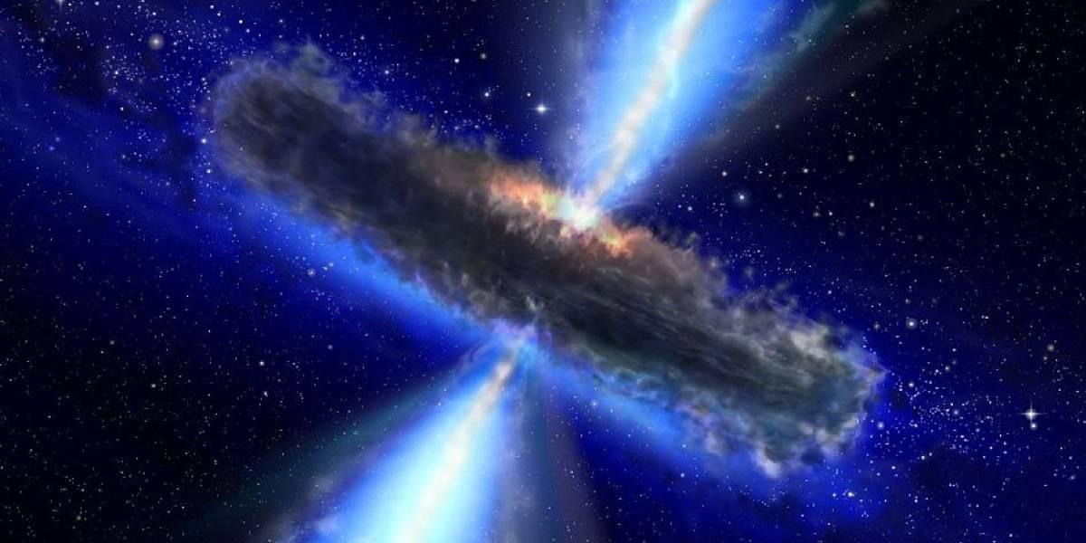 Descubren la mayor reserva de agua del universo... en un hoyo negro