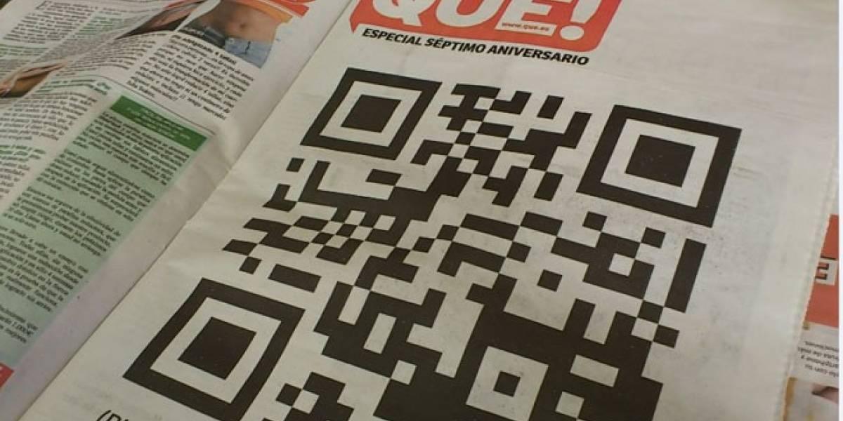 El diario español Qué! se rediseña incorporando códigos QR en sus páginas