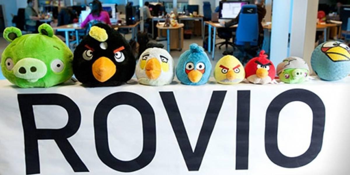 Rovio se echó al bolsillo USD$67.6 millones gracias a Angry Birds en 2011