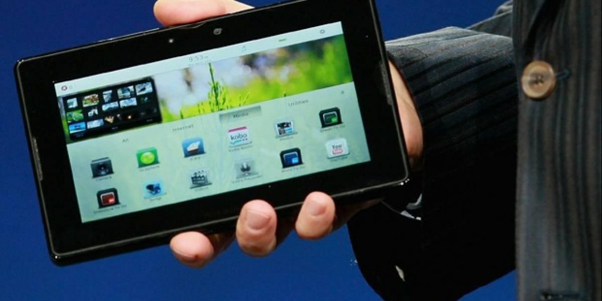 RIM dará en forma gratuita su tablet PlayBook a empresarios