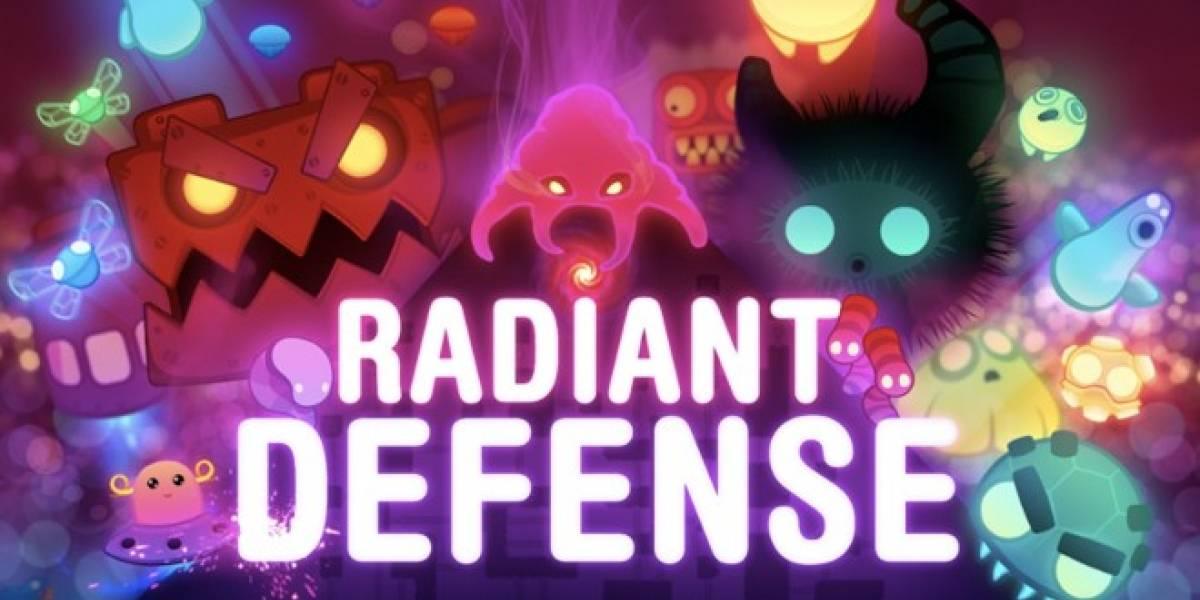 Pronto para tu iPhone, Android y Windows Phone: Radiant Defense