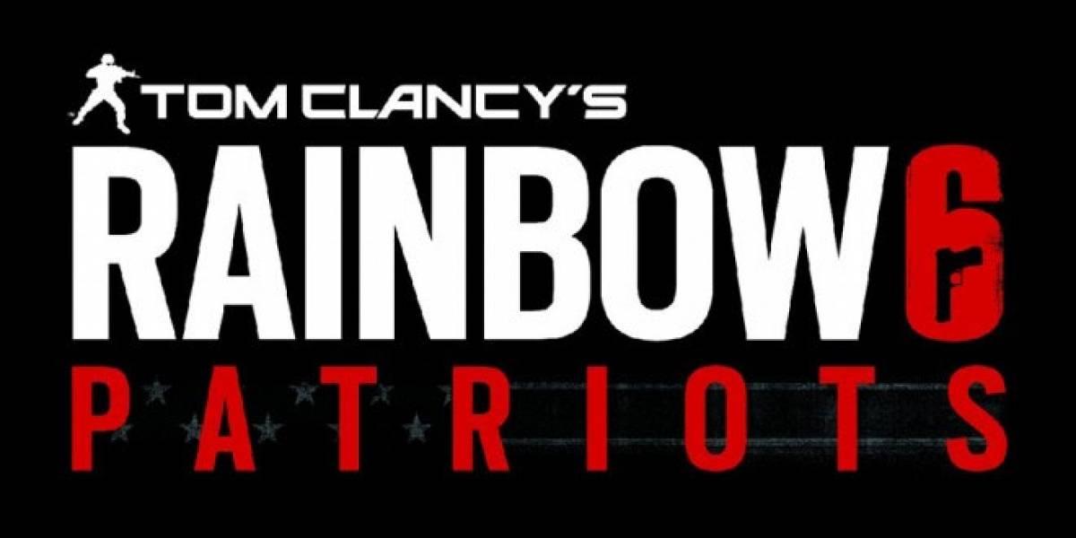 Así se jugará Rainbow Six Patriots