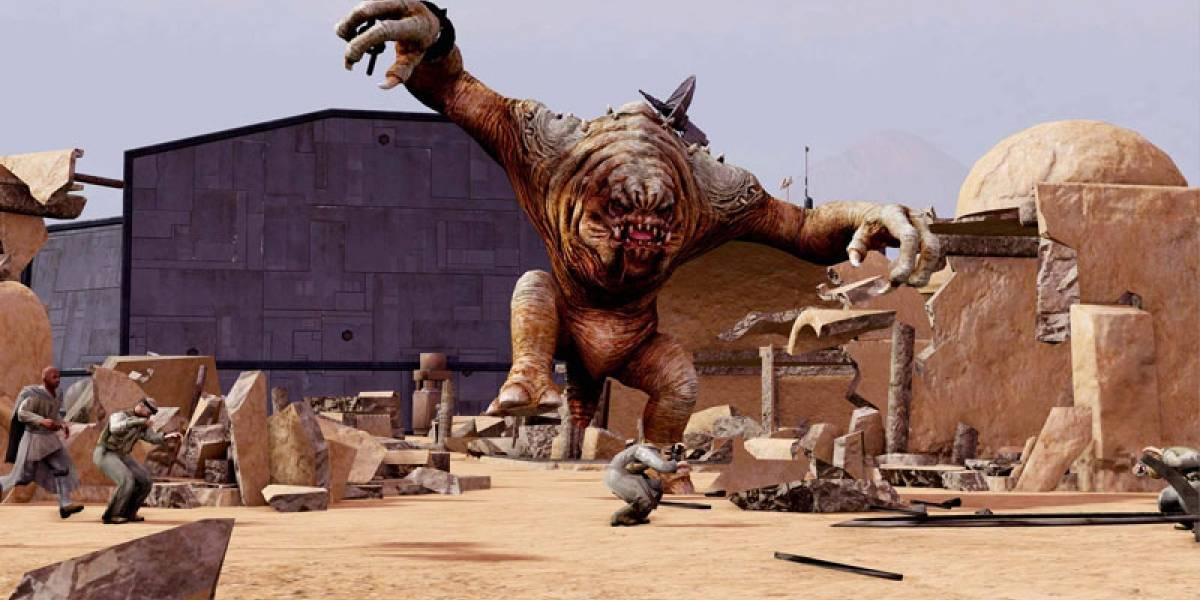 Así se controla un Rancor en Kinect Star Wars [gamescom 11]
