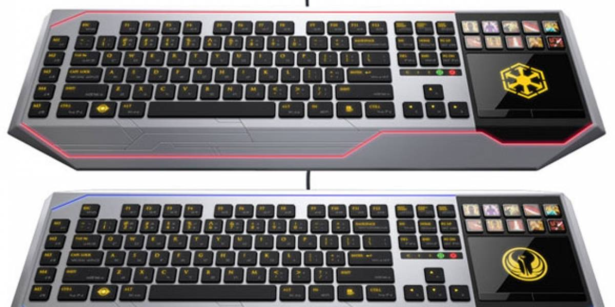 "Razer presenta un teclado especial para jugar ""Star Wars: The Old Republic"""