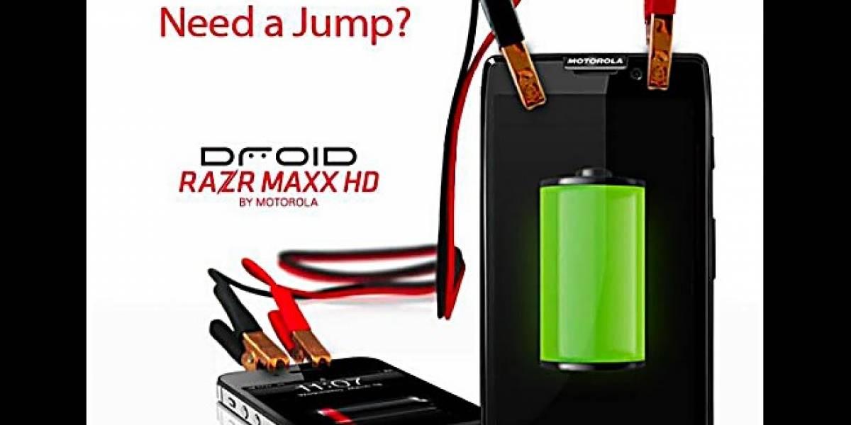 El RAZR Maxx HD y su gran batería se burlan del iPhone 4S