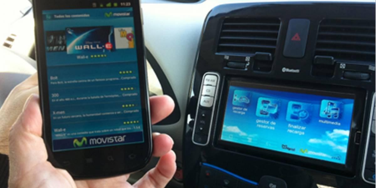 España: Un cable para recargar baterías y descargar contenido multimedia en coches eléctricos