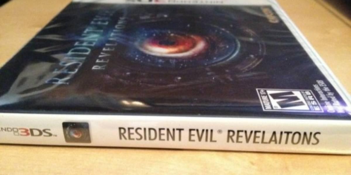 Capcom ofrece solución para el error ortográfico de la carátula de Resident Evil: Revelations