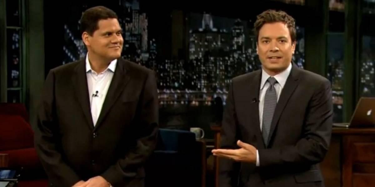 Wii U, Skyward Sword y Reggie Fils-Aime, también en el show de Jimmy Fallon