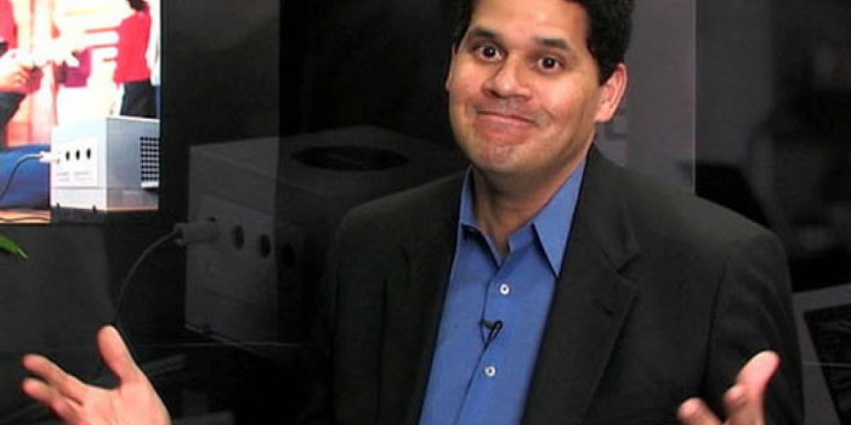 Reggie Fils-Aime dice que los juegos sociales son muy repetitivos
