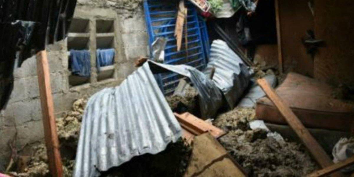 Mujer y sus dos hijas mueren por derrumbe en su vivienda