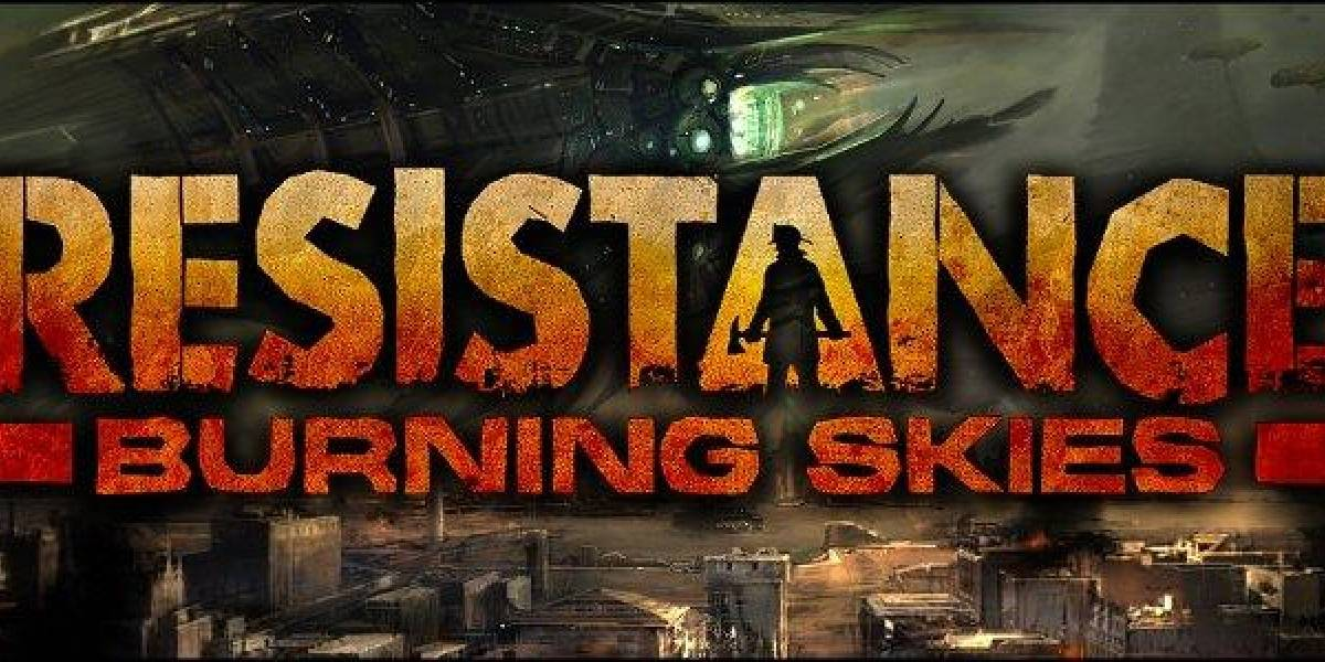 Así luce en acción Resistance: Burning Skies para PS Vita