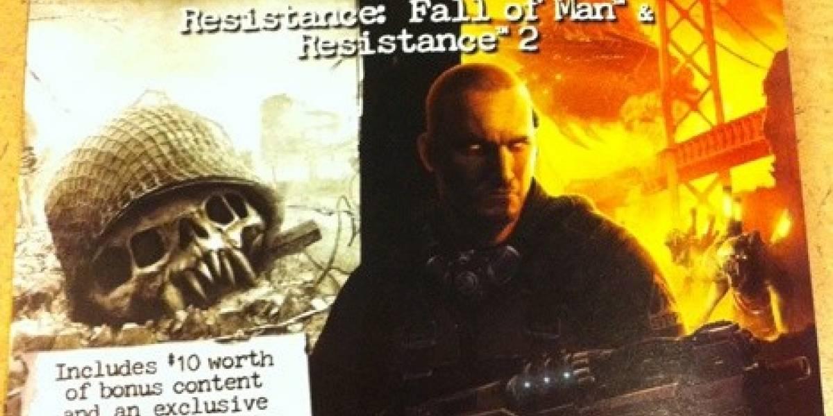 Resistance y Resistance 2 vendrán en paquete doble de Greatest Hits