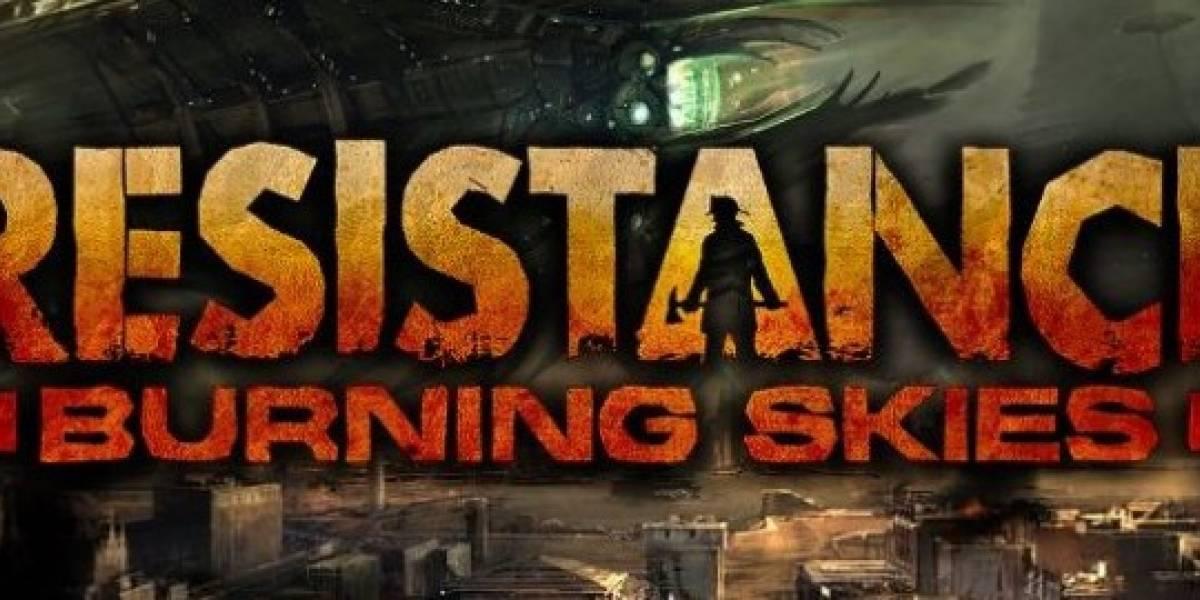 Sony anuncia fecha de salida para Resistance: Burning Skies en América