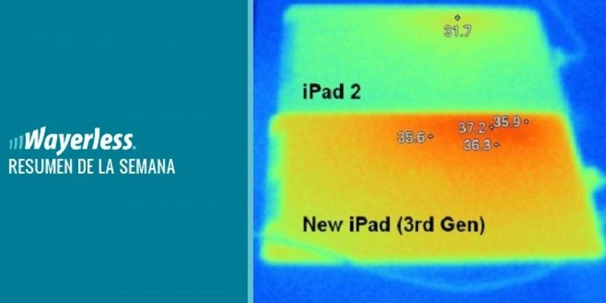 Problemas con el nuevo iPad, Windows Phone Apollo para todos los móviles actuales y más