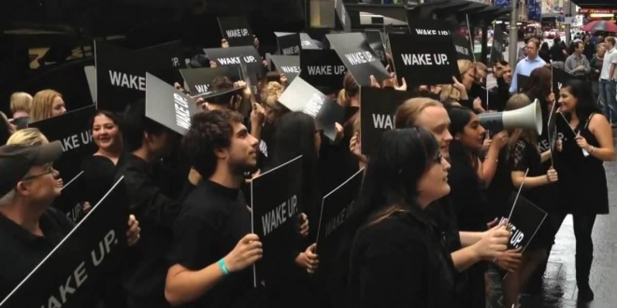 RIM admite estar detrás de las protestas en una Apple Store australiana
