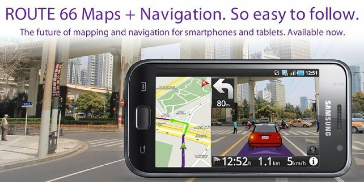 Route 66 Maps + Navigation app ya en el Android Market
