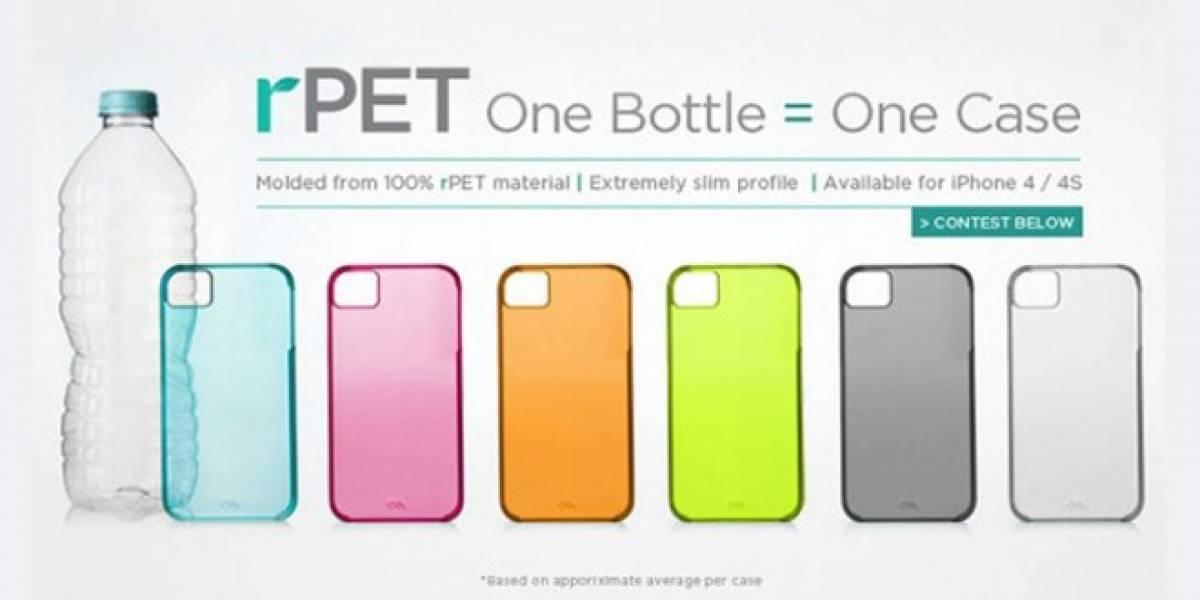 ¿Qué te parecen estas carcasas de plástico reciclado para tu iPhone 4/4S?