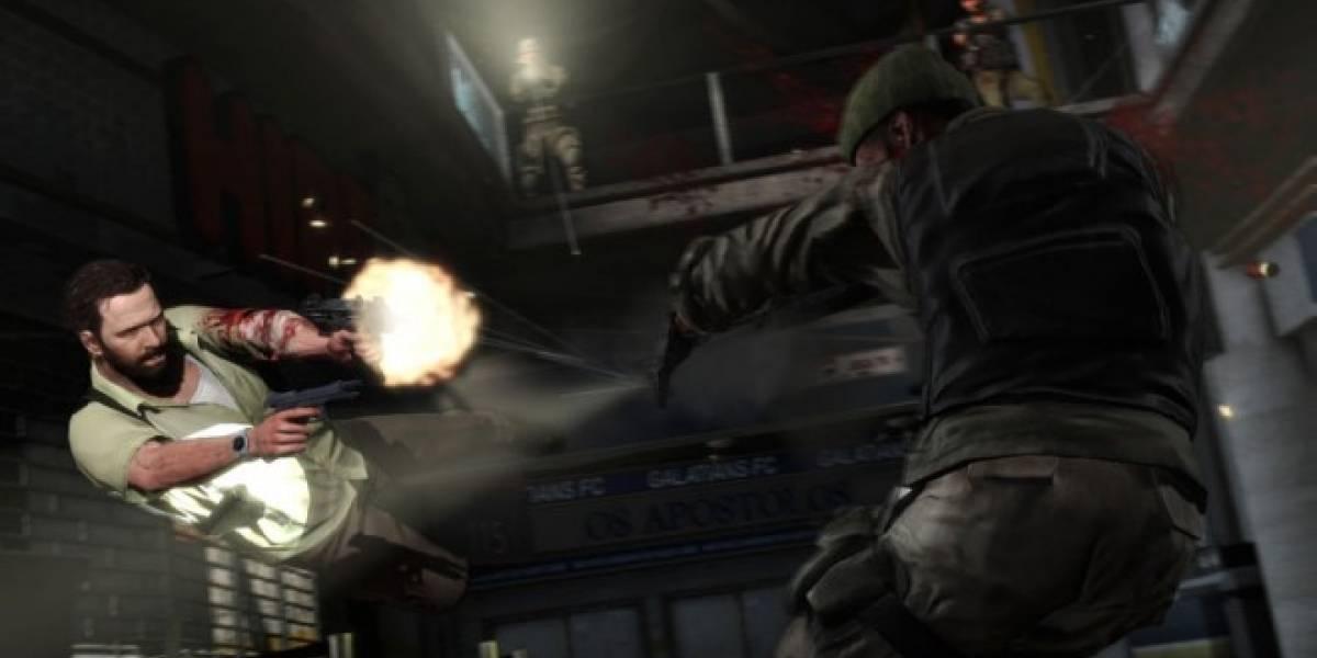 El uso del Bullet Time en Max Payne 3