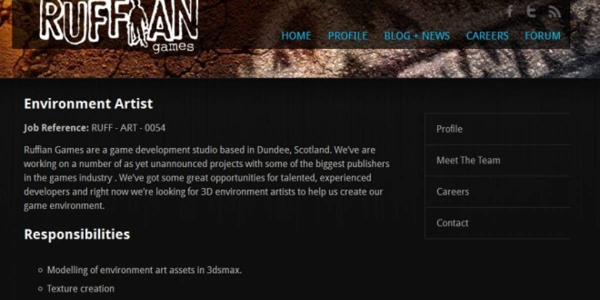Ruffian Games trabaja en un nuevo juego de acción, ya se especula con la tercera parte de Crackdown
