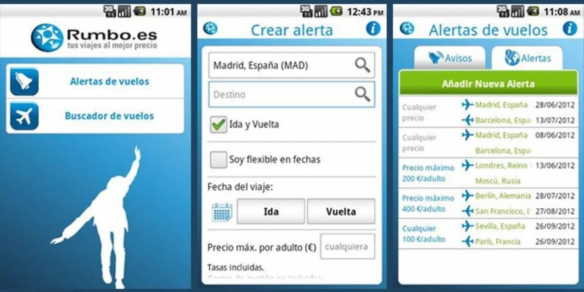 España: La agencia de viajes Rumbo ya tiene aplicación móvil