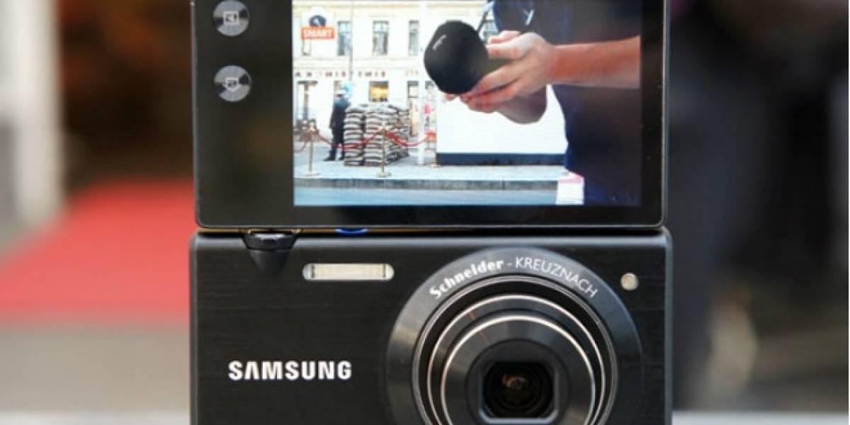 Samsung está probando suerte con las cámaras digitales con Android