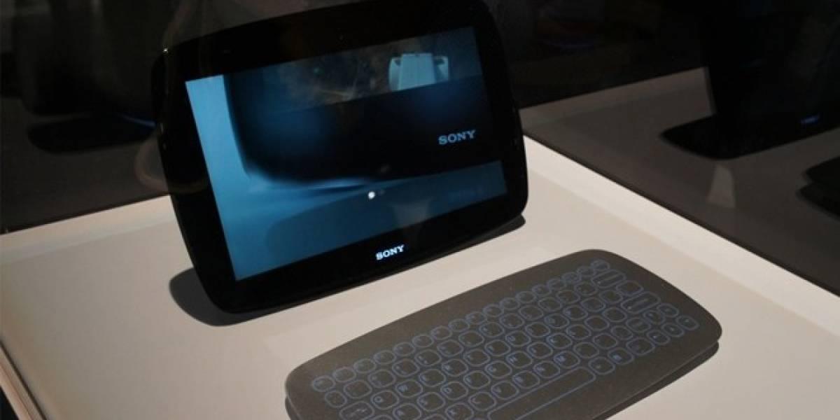 CES 2012: Sony muestra dos conceptos de tabletas muy modernas