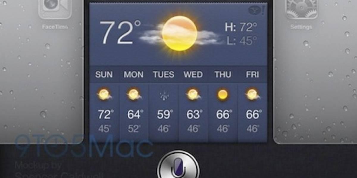 Futurología: Siri llegará al iPad junto a iOS 6