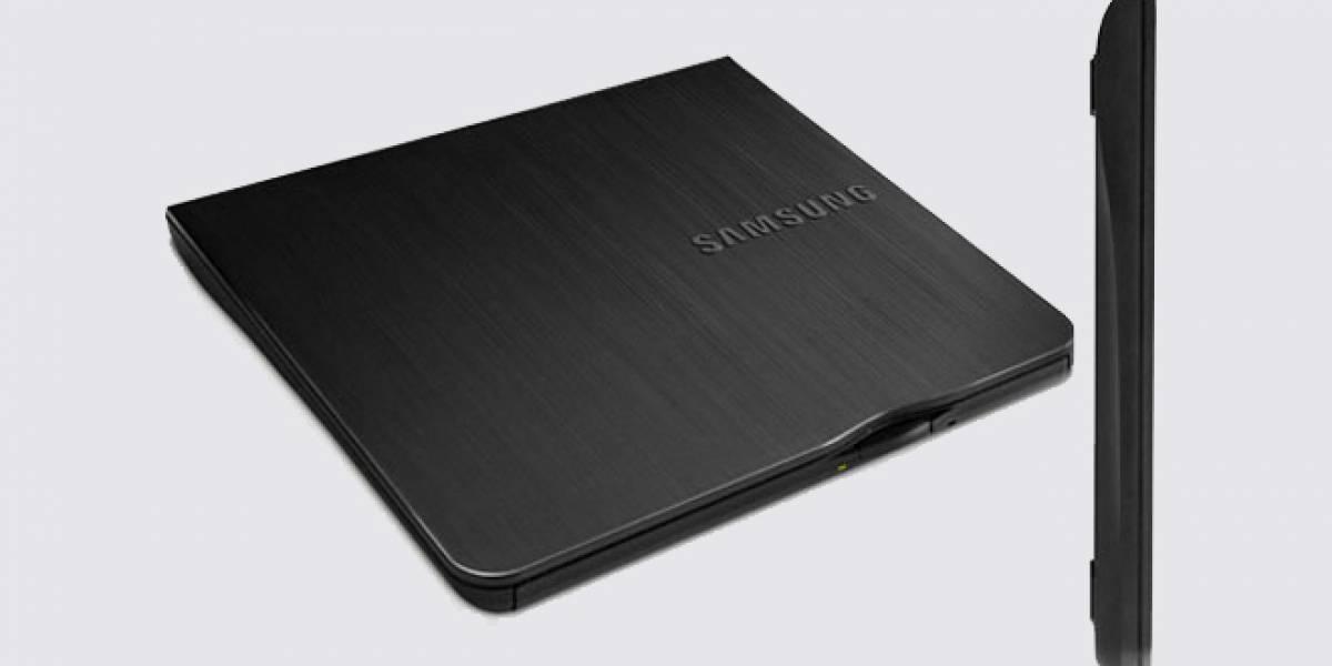 Samsung lanza el grabador de discos externo más delgado del mundo