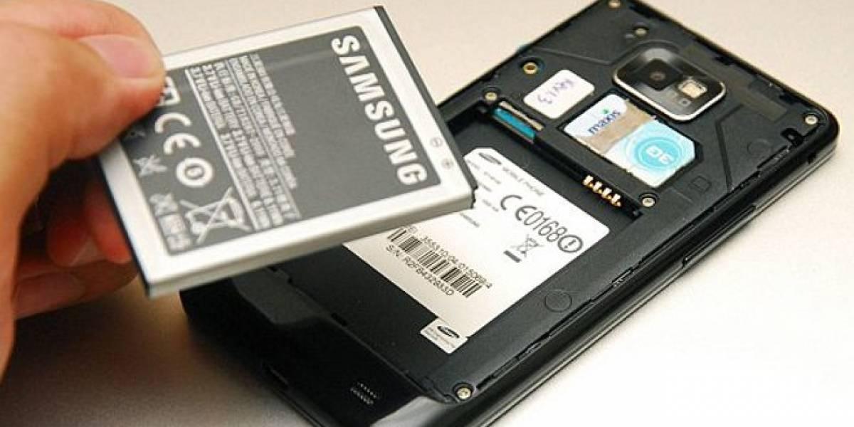 Samsung promete trabajar en mejorar la autonomía de los móviles en 2012