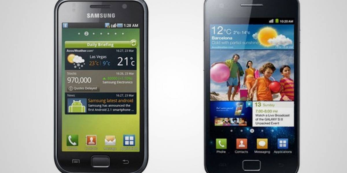 Samsung Galaxy S y S II: 52 millones de unidades vendidas en total