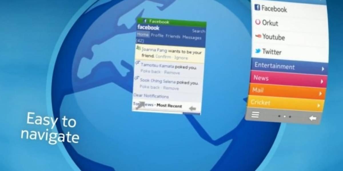 Nokia lanza navegador actualizado para sus móviles serie S40
