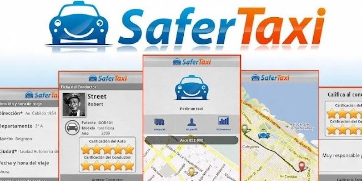 SaferTaxi, una forma sencilla y rápida de conseguir taxi con tu smartphone