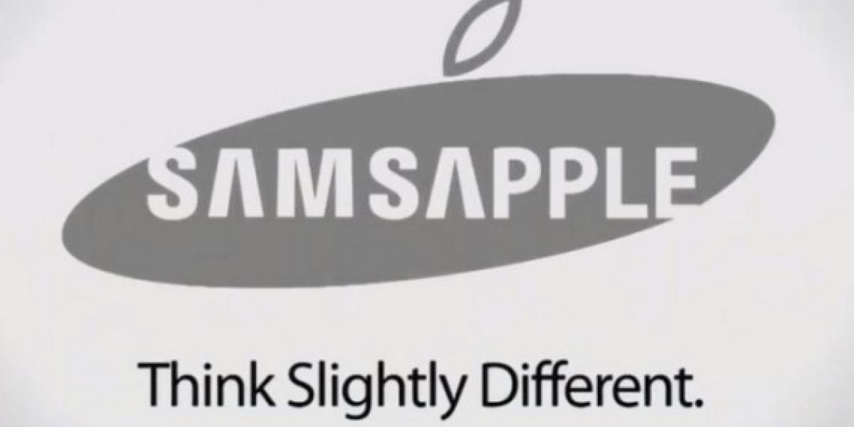 Hacen burla del caso Apple vs Samsung